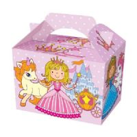 Castle Princess With Unicorn Meal Party Box